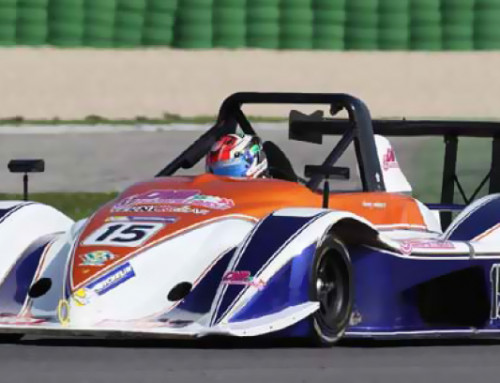 Danny Molinaro nearly happened to the Italian Sportscar Championship before at Misano with the Osella PA21 Evo