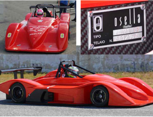 Completed testing the Osella PA21 JrB is ready for prime time in CIVM at Coppa Selva di Fasano (Br) on 14 and 15 May