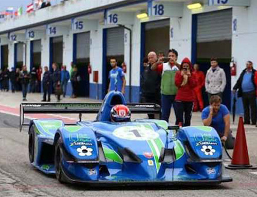 A new team was born in Umbria, Michele Bellboys top driver with the Osella V8 PA30 Zytek Evo