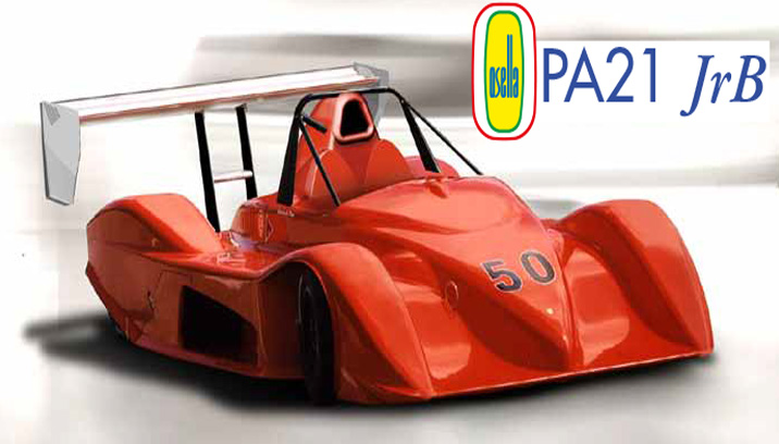 OSELLA UNVEILS THE PA21 JrB, FIRST RACECAR SPECIFICALLY DESIGNED FOR MOTORCYCLE ENGINES IN CLASS E2B