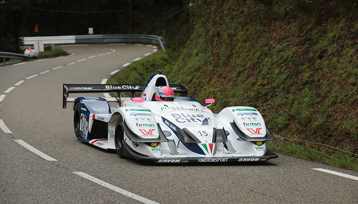 Christian 2° to Col Saint Pierre in France the Osella WINS race 2