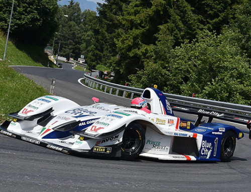 Christian Merli signature course gagnants en 5 Round du championnat italien vitesse Mountain Inn
