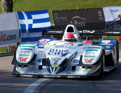 Mahoney won the Fia Hill Climb Masters in Gubbio